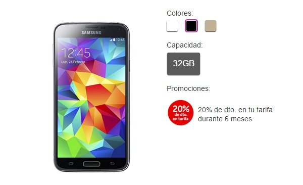 Ya se puede actualizar el Samsung Galaxy S5 de Vodafone a Android 5.0 Lollipop