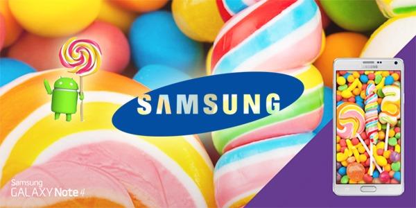 Android 5.0 Lollipop en Samsung, cuál es el estado actual de las actualizaciones