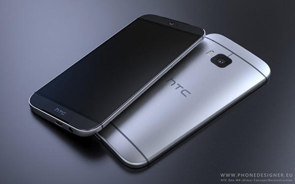HTC One M9, nuevos y detallados diseños conceptuales