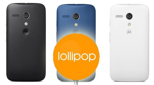 Cuándo se actualizará a Android 5.0 Lollipop el Motorola Moto G de 2013