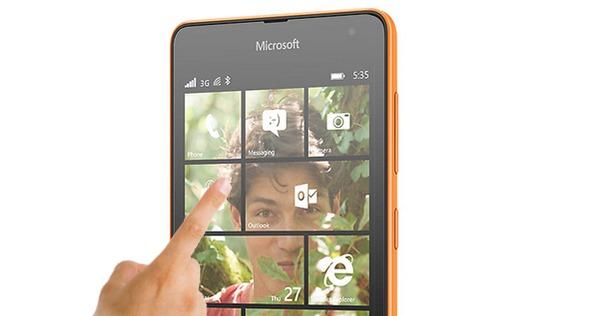 Microsoft trabaja para solucionar los problemas de pantalla del Lumia 535