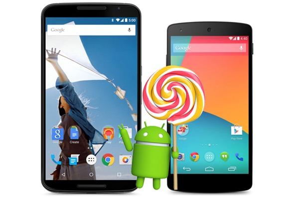 Nexus 5 y Nexus 6, cara a cara en una prueba de rendimiento con Android 5.1 Lollipop
