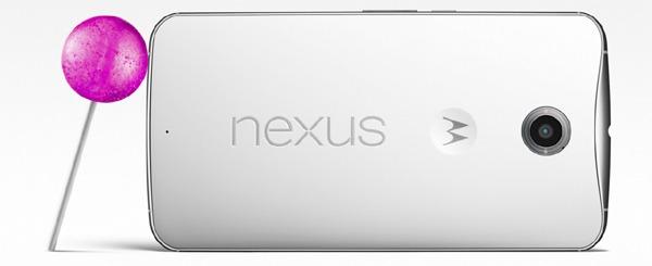 Nexus 6 con la actualización de Android 5.1 Lollipop