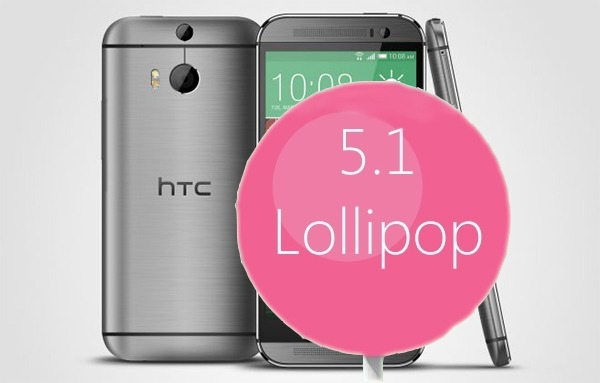 El HTC One M8 comenzará a actualizarse a Android 5.1 Lollipop a partir de agosto