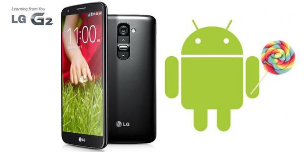 El LG G2 de Vodafone comienza a actualizarse a Android 5.0.2 Lollipop