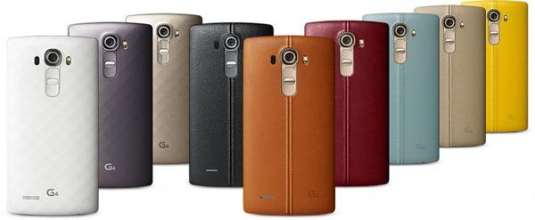 El LG G4 queda completamente al descubierto