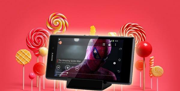 Los Sony Xperia Z1, Z1 Compact y Z Ultra reciben Android 5.0.2 Lollipop