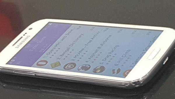 Samsung Z2, primeras fotografías filtradas