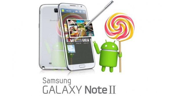 La actualización de Lollipop del Samsung Galaxy Note 2 podría depender de cada mercado