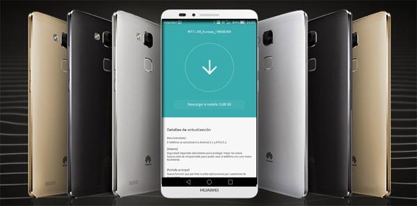 Android 5.1 para el Huawei Ascend Mate 7, comienza la actualización