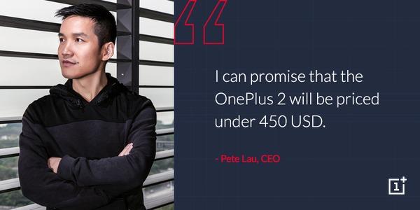 El OnePlus 2 costará menos de 400 euros