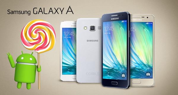 Android 5.0.2 Lollipop para el Samsung Galaxy A3, ya disponible