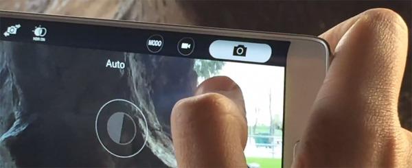 Samsung introducirá una curiosa función táctil en sus pantallas