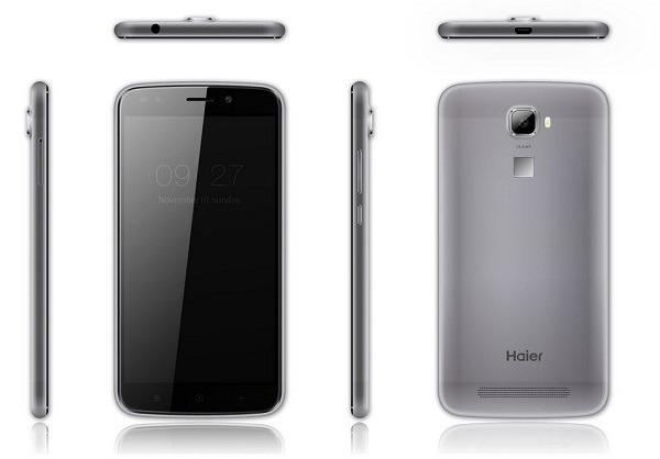 Haier añade cinco nuevos smartphones de hasta 5,5 pulgadas y Android