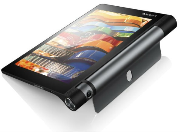 Lenovo Yoga Tab 3, nueva tableta con cámara giratoria con control de gestos