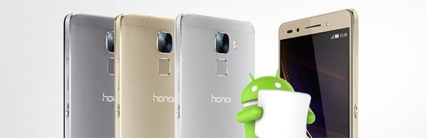 El Honor 7 recibirá la actualización de Android 6.0 Marshmallow