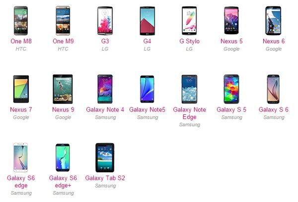 Móviles de Samsung, LG o HTC que recibirán la actualización de Android 6.0 Marshmallow
