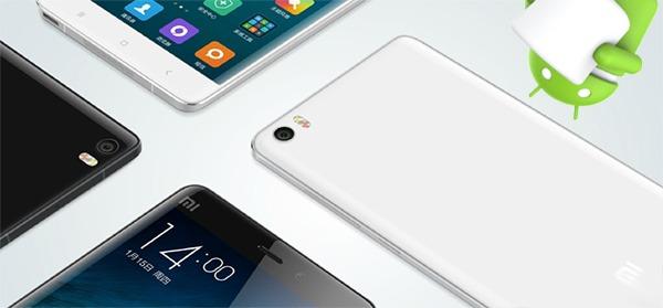 Xiaomi se suma a la actualización de Android 6.0 Marshmallow