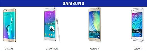 5 mejores móviles de Samsung por menos de 300 euros