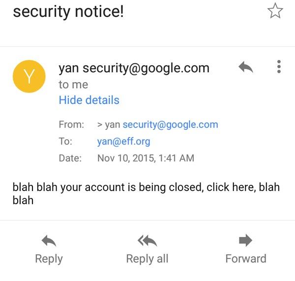 Fallo de seguridad en Gmail para Android