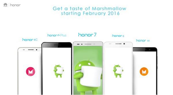 Android 6.0 en Honor, a partir de febrero