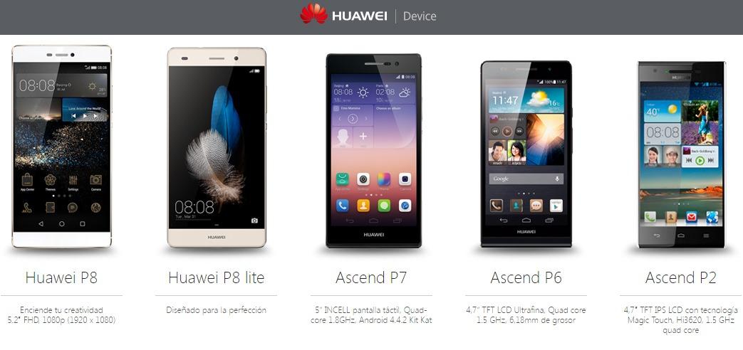 3 mejores móviles de Huawei por menos de 250 euros