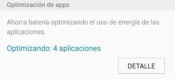Optimización de aplicaciones de Samsung, cómo funciona