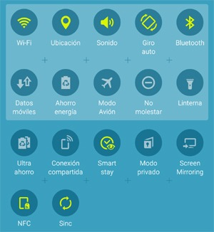 Qué significan los iconos en Android