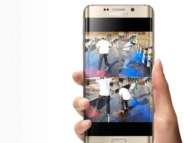 Así podrían ser las pantallas del Samsung Galaxy S7 y S7 edge