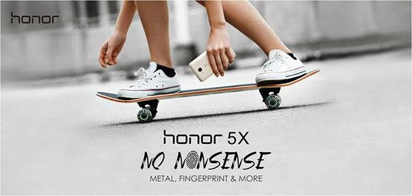 El Honor 5X llegará a Europa el 4 de febrero