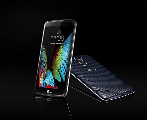 LG anuncia el lanzamiento del K10 y el K4