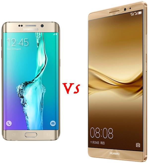 Samsung Galaxy S6 Edge+ Vs Huawei Mate 8