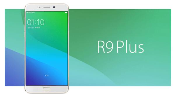 Oppo R9 Plus, un phablet de gama alta con pantalla de 6 pulgadas