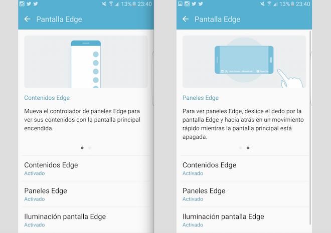Pantalla Edge Galaxy S7 Edge