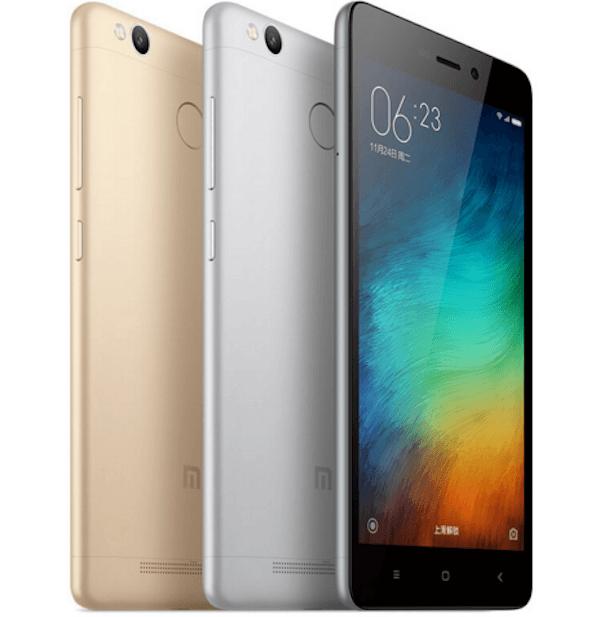 Así es el Xiaomi Redmi 3 Pro