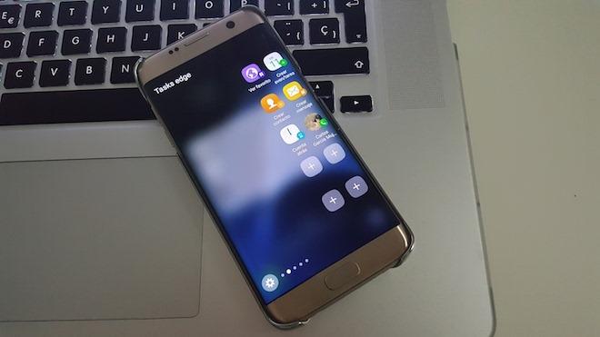 Cómo usar la pantalla curva del Samsung Galaxy S7 Edge