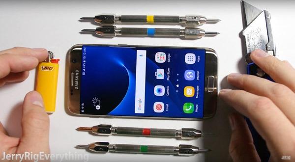 El Samsung Galaxy S7 Edge se somete a pruebas extremas de resistencia