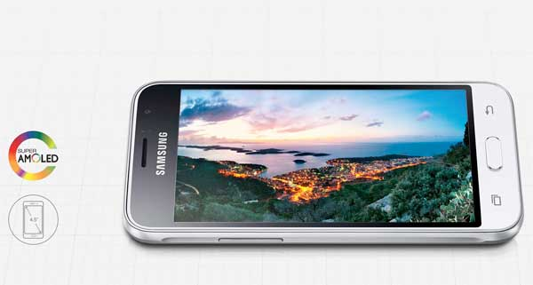 Samsung Galaxy J1 2016, un móvil básico con pantalla de 4,5 pulgadas