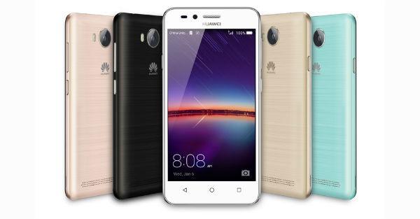 Huawei Y3 II, móvil asequible con pantalla de 4,5 pulgadas