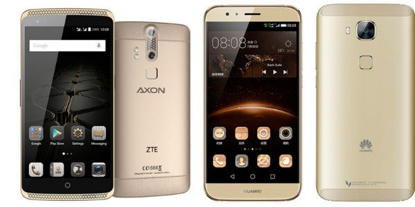 Comparativa ZTE Axon Mini vs Huawei GX8