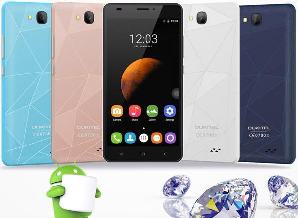 Oukitel C3, un smartphone con Android 6.0 Marshmallow por 50 euros