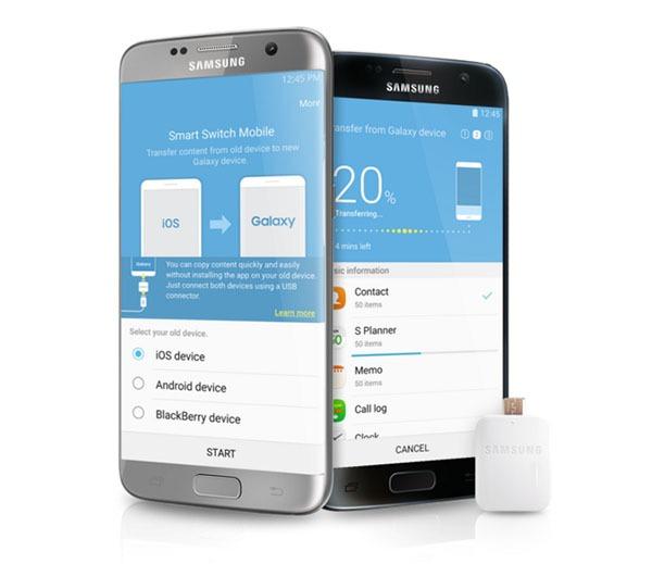 Cómo volcar todos los datos de un móvil viejo a tu nuevo Samsung Galaxy S7
