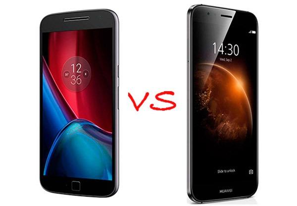 Comparativa Moto G4 Plus vs Huawei GX8