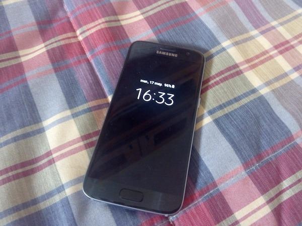 Programa el apagado de la pantalla siempre encendida de tu Galaxy S7
