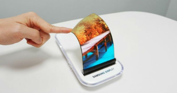 Así­ serí­a el panel flexible del Samsung Galaxy X