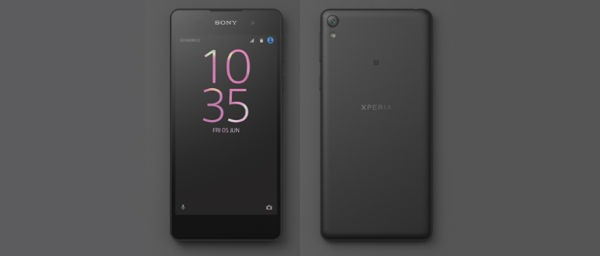Aparece una imagen oficial del Sony Xperia E5 en el Facebook de Sony