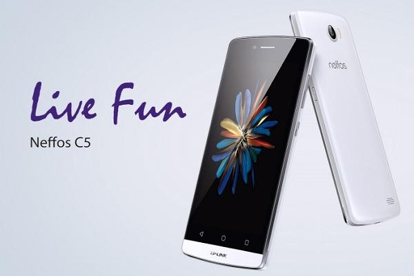 TP-LINK Neffos C5, ya a la venta este móvil de gama media por 170 euros