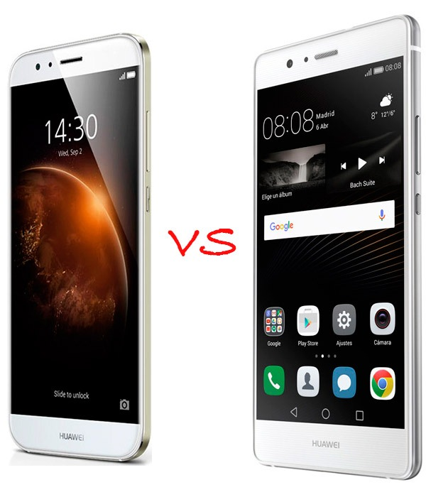 comparacion huawei p8 vs iphone 5s
