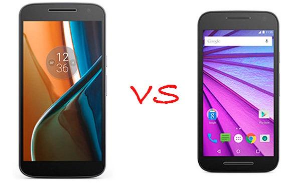 Comparativa Motorola Moto G4 2016 vs Motorola Moto G 2015