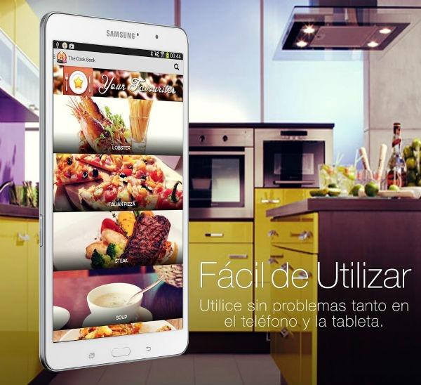 Las mejores aplicaciones para cocinar con tu m vil for Aplicacion diseno cocinas